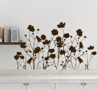 Field of Wild Flowers Wall Decal. Nature Home Decor. #AC148