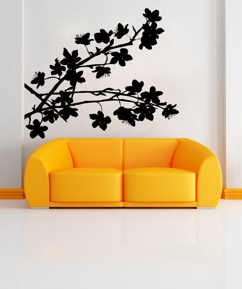 Vinyl Wall Decal Sticker Blooming Branch #AC195