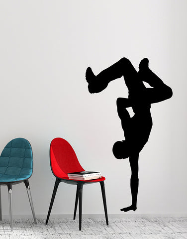Break Dancing Vinyl Wall Decal Sticker. #AC197