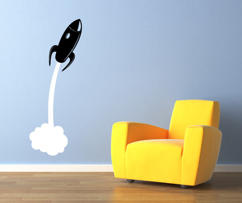 Vinyl Wall Decal Sticker Kids Rocket #OS_MB412