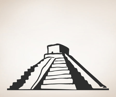 Vinyl Wall Decal Sticker Mayan Pyramid #OS_MB453