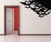 Vinyl Wall Decal Sticker Bats Corners #OS_MB274
