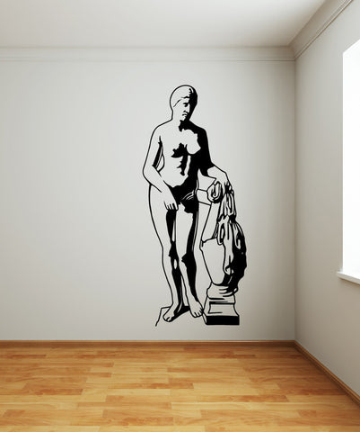 Vinyl Wall Decal Sticker Aphrodite of Knidos Statue #OS_MB513