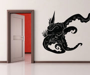 Vinyl Wall Decal Sticker Tentacles Through Wall #OS_MB269