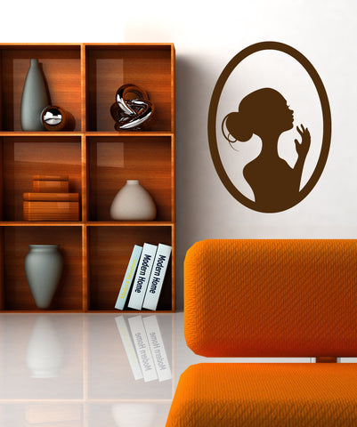 Vinyl Wall Decal Sticker Lady Pose #OS_MB295