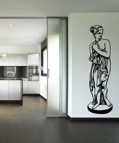 Vinyl Wall Decal Sticker Female Greek Statue #OS_MB515