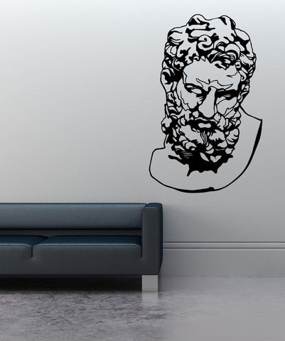 Vinyl Wall Decal Sticker Head of Heracles #OS_MB516