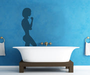 Vinyl Wall Decal Sticker Lady Silhouette #OS_MB298