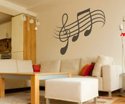 Vinyl Wall Decal Sticker Musical Notes #OS_MB337