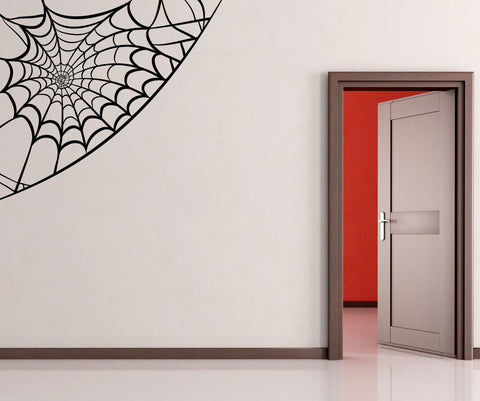 Vinyl Wall Decal Sticker Spiderweb #OS_MB301