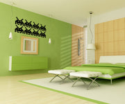 Alien Invader Vinyl Wall Decal Sticker. #OS_MB113