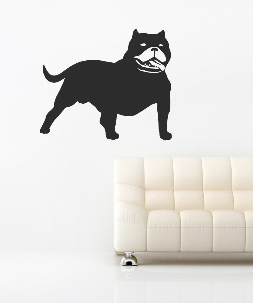 Vinyl Wall Decal Sticker Dog #OS_MB523