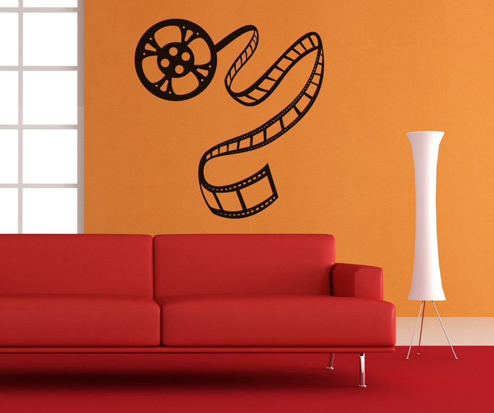 Vinyl Wall Decal Sticker Movie Film Roll Os Mb424