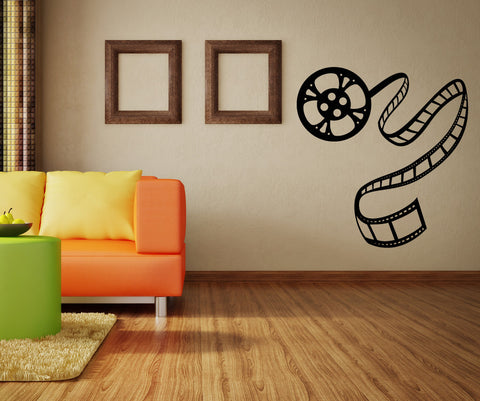 Vinyl Wall Decal Sticker Movie Film Roll #OS_MB424