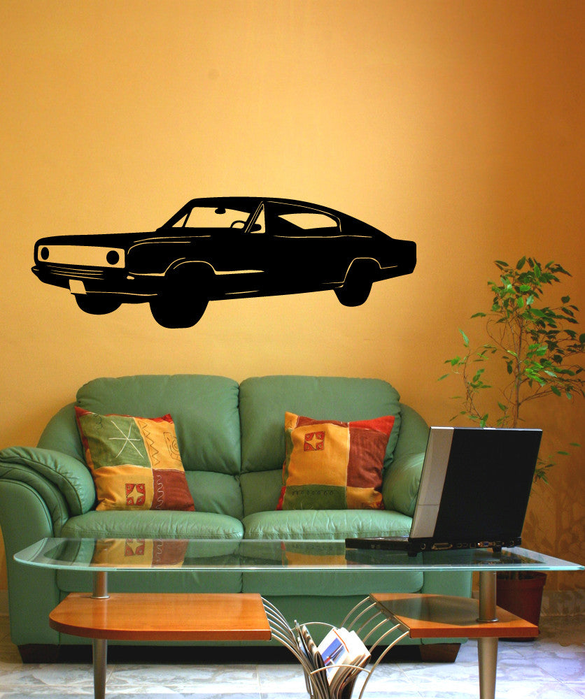 Vinyl Wall Decal Sticker Classic Car #OS_MB524