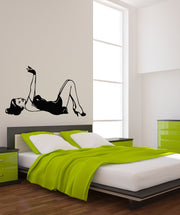 Vinyl Wall Decal Sticker Vintage Pin Up #OS_MB527