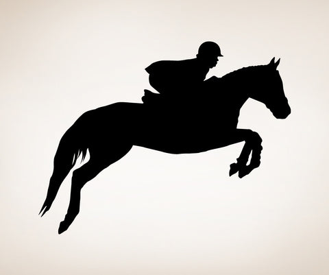 Vinyl Wall Decal Sticker Show Horse #OS_MB428