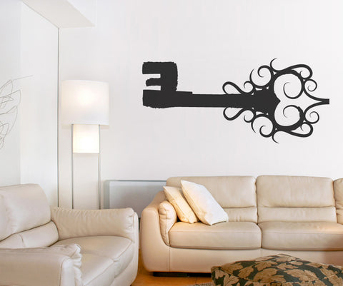 Vinyl Wall Decal Sticker Antique Key #OS_MB388
