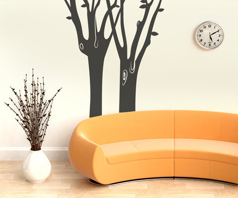 Vinyl Wall Decal Sticker Set of Trees #OS_MB309