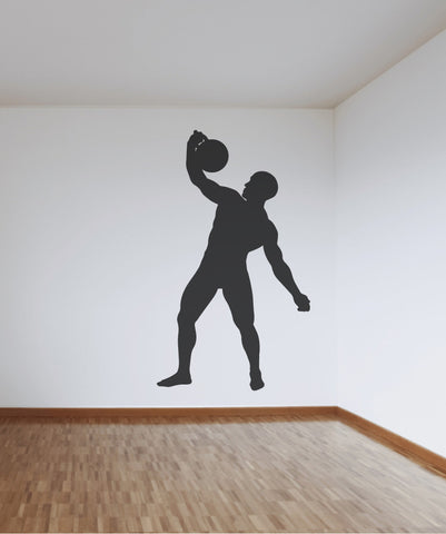 Vinyl Wall Decal Sticker Strong Man #OS_MB529