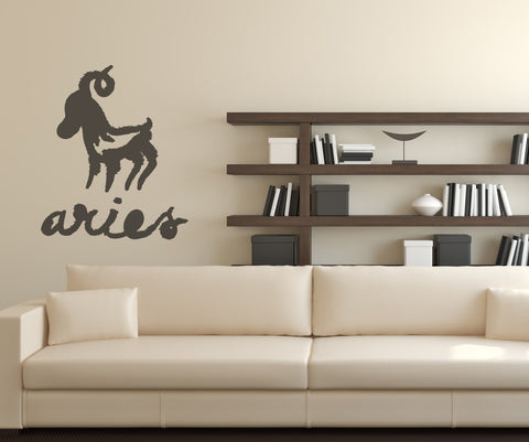 Vinyl Wall Decal Sticker Aries OS_MB430