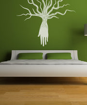 Vinyl Wall Decal Sticker Tree and Hand #OS_MB391