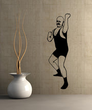 Vinyl Wall Decal Sticker Old Time Fighter #OS_MB531