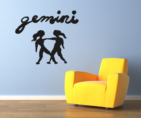 Vinyl Wall Decal Sticker Gemini #OS_MB432