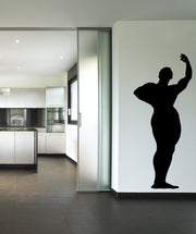 Vinyl Wall Decal Sticker Muscle Pose #OS_MB532