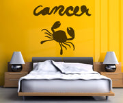 Vinyl Wall Decal Sticker Cancer #OS_MB433