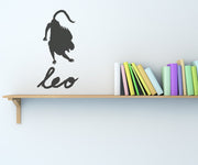 Vinyl Wall Decal Sticker Leo #OS_MB434