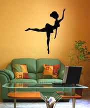 Vinyl Wall Decal Sticker Ballerina Silhouette #OS_MB475