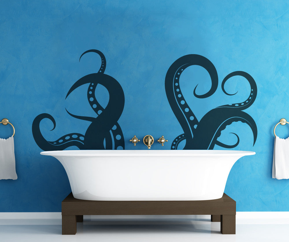 & Vinyl Wall Decal Sticker Tentacles #OS_MB316