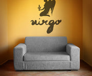 Vinyl Wall Decal Sticker Virgo #OS_MB435