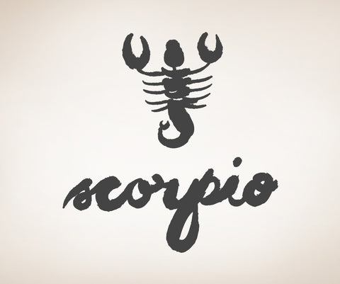 Vinyl Wall Decal Sticker Scorpio #OS_MB436