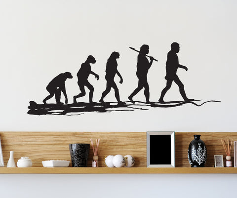 Vinyl Wall Decal Sticker Evolution #OS_MB233