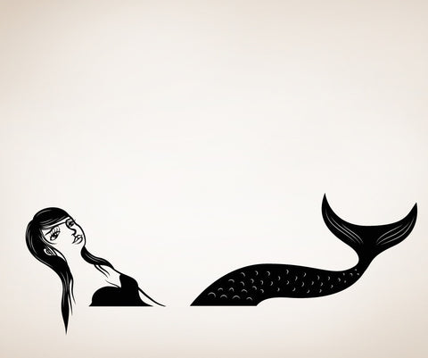 Vinyl Wall Decal Sticker Mermaid #OS_MB315