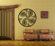 Vinyl Wall Decal Sticker Paisley Design #OS_MB236