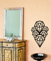 Vinyl Wall Decal Sticker Diamonds #OS_MB320