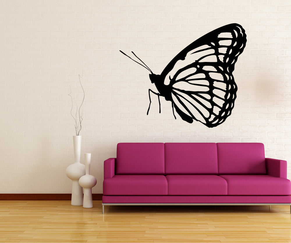 Vinyl Wall Decal Sticker Monarch Butterfly OSMB - Vinyl wall decals butterflies