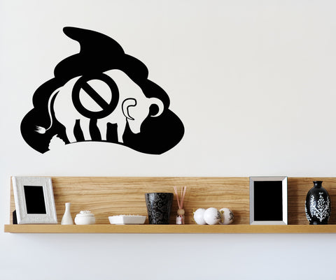 Vinyl Wall Decal Sticker No BS #OS_MB256