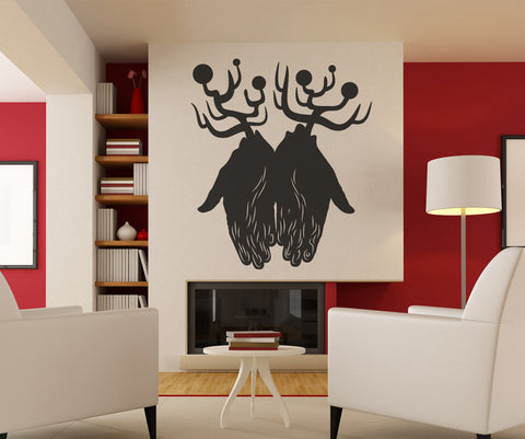 Vinyl Wall Decal Sticker Abstract Hands #OS_MB402
