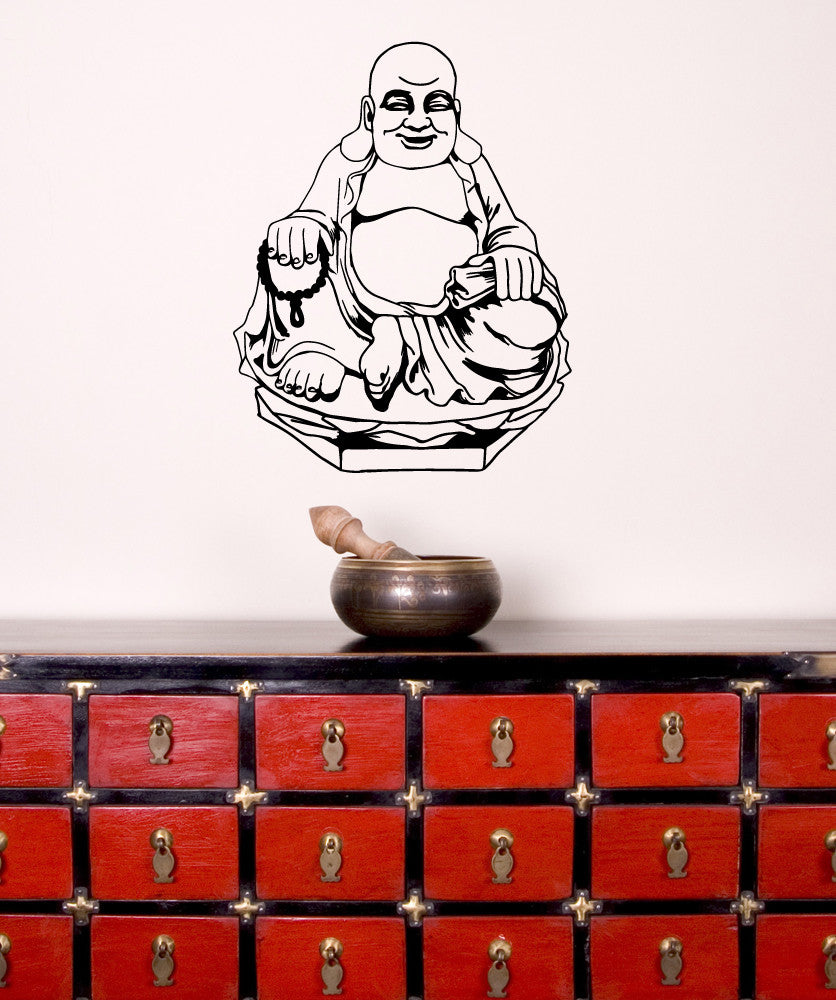 Vinyl Wall Decal Sticker Buddha #OS_MB542