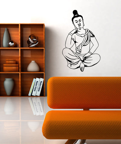 Vinyl Wall Decal Sticker Hindu Meditation #OS_MB543