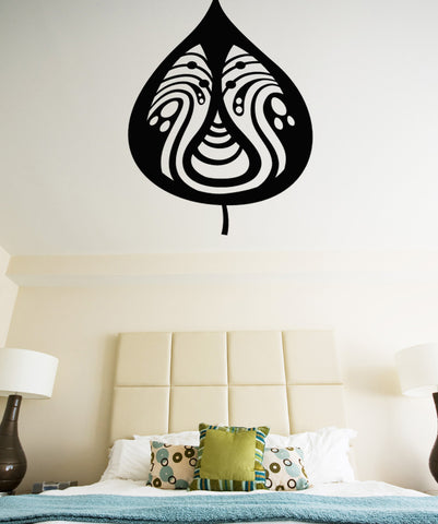 Vinyl Wall Decal Sticker Pattern in Leaf #OS_MB363