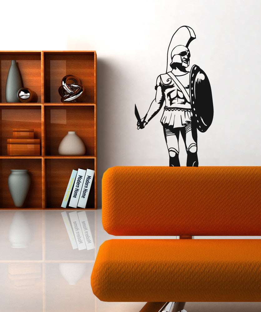 Vinyl Wall Decal Sticker King Leonidas Statue #OS_MB544