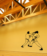 Vinyl Wall Decal Sticker Martial Arts Fight #OS_MB546