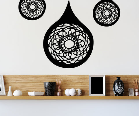 Vinyl Wall Decal Sticker Decorative Tears #OS_MB366