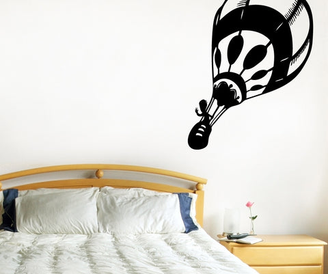 Vinyl Wall Decal Sticker Hot Air Balloon #OS_MB407