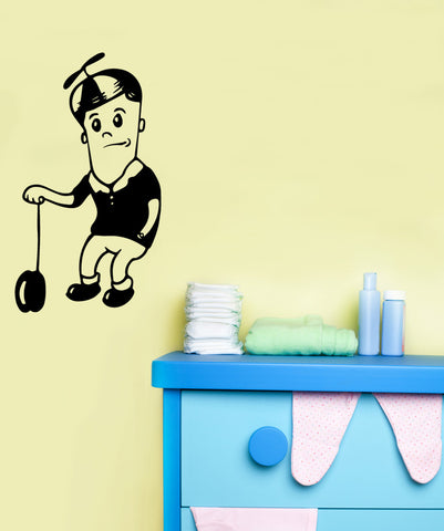 Vinyl Wall Decal Sticker Boy with YoYo #OS_MB488